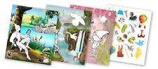 QuackDuck Malbuch Enchanting Gardens - Zauberhafte Welt - Malen und Schneiden