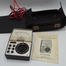 Micronta Multitester 22-202U 25 Ranges 20K Ohms J425 Collectible Vintage Meter