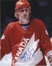 Team Canada Wayne Gretzky Autographed Signed 8x10 Photo JSA COA #5