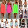 Women Bikini Swimwear Beachwear Swimsuit Cover Up Beach Summer Short Mini Dress