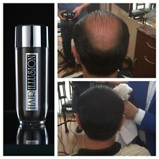 Hairillusion 100% NATURAL Hair Fibers Hair Fall Baldness Concealer Black 38.5G