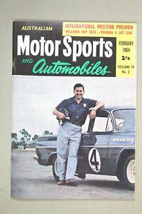 Orig 1964 AUSTRALIAN MOTOR SPORT Magazine - Porsche / Beechey / Motor Racing