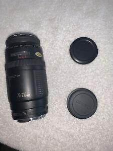 Cannon Zoom Lens EF 70-210mm 1:4 Plus Lens Caps