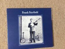 FRANK FAIRFIELD - FRANK FAIRFIELD (CD ALBUM)