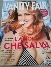 JENNIFER LAWRENCE VANITY FAIR MAGAZINE ITALY MARCH 2013 RARE COLLECTORS