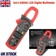 UNI-T UT204A 600A Digital Clamp Meter MAX Mode Ohm A/DC Current Tester Auto-Hold