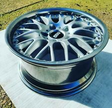 """BMW E36/7 E46 Z3 staggered style 42 BBS RS RS740 RS765 17"""" splitrim alloys 5x120"""