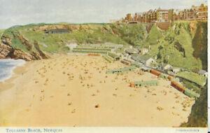 Cornwall Postcard - Tolcarne Beach - Newquay - Ref TZ6346