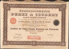 Etablissements PEREZ & COUDERT (FEZ MAROC) (U)