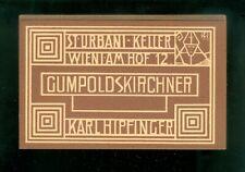 c1912 Vienna Secession Graphic Design Lot of 10 Labels