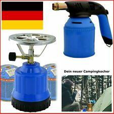 Wählbar ! Butangas Kartusche / Gaskocher / Gas Brenner Garten Camping Ofen