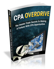 CPA Opportunities; Insider Trade Secrets To Making A Fortune With CPA Offers (CD