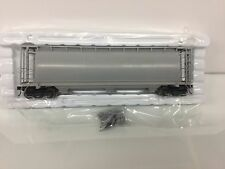 Atlas #3002210 Undecorated 3-Bay Cylindrical Hopper 2 Rail O Scale