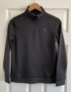 Boys Under Armour Storm 1 Golf Pullover Top, Size Youth L, Pristine Condition