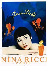 "Publicité Advertising 1997 Parfum ""Deci Dela"" par Nina ricci"