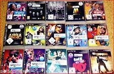 PS3 SINGSTAR: Disney, Germany, ABBA,Sing It, Apres SKI, Pop; 80s,Vol.3,Mallorca