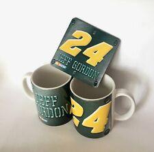 NASCAR Jeff Gordon # 24 Racing Sports Coffee Tea Mug and Coaster NEW mug Coaster