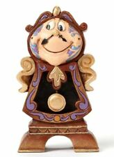 Jim Shore Disney Keeping Watch Cogsworth Beauty and the Beast Figurine 4049621