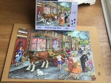 "House Of Puzzles 1000 Piece Jigsaw Puzzle ""Fruit & Veg Man"""