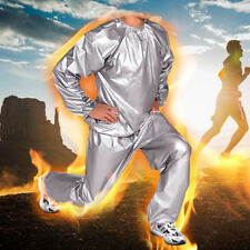 Heavy Duty Sweat Sauna Suit Gym Fitness Exercise Weight Loss Anti-Rip