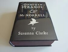 Jonathan Strange and Mr. Norrell Susanna Clarke Signed UK 1st/1st BlackJacket HC