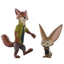 Disney Zootropolis Personnage Paquet De Figurines - Nick et Finnick TOUT NOUVEAU