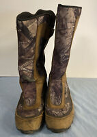 RedHead Bayou Waterproof Side Zip Snake Hunting Boots Size 12M