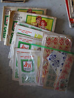 BIG Lot of Vintage G&H Green Stamps and Acme Stamps in Books