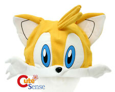 Sega Sonic Tails Plush Hat Cosplay  Costumes Plush Beanie Hat