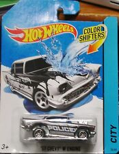 2013 Hot Wheels Color Shifters '57 Chevy W Engine Combine Shipping World Wide