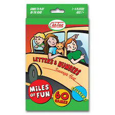 Car Tag, Letters & Numbers family travel game