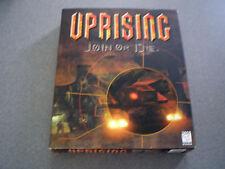 Uprising: Join or Die  WIN 95   NIB   Big Box