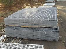 galvanised sheet metal fencing mesh 2400x1800 50x50x3.2