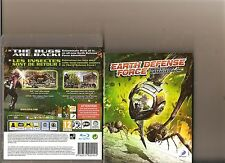 Earth DEFENSE FORCE Insetto Armageddon PLAYSTATION 3 PS3 PS 3 Bug GIGANTE