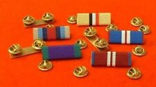 MEDAL RIBBON BARS STUD TYPE Single Pins or Multiple Ribbon Bar Combinations