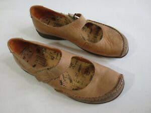 CAMEL ACTIVE  Ballerinas MOON Mary Jane 4 1/2 37,5 Leder Echtleder beige /Z1