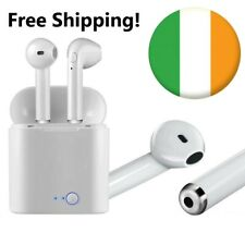 i7s Wireless headphones earphones earbuds Bluetooth iOS & Android Free Shipping!