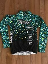 New listing Zoot triathlon women's Team Zoot LS thermal cycling jersey, size M