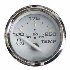 """Faria Kronos Water Temperature 100-250 F Gauge 2"""" Inboard Outboard 19003 MD"""