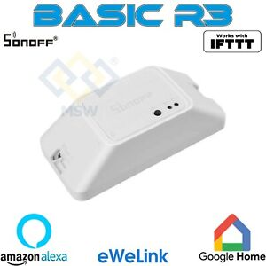 SONOFF BASICR3 interruttore WIFI DIY Smart Switch REST API 10 A / 2200 W eWeLink