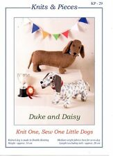 Duke & Daisy - KP-29 Knits & Pieces KNIT & SEW PATTERN- Not finished Dogs
