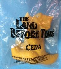 VTG PIZZA HUT LAND BEFORE TIME VINYL RUBBER HAND PUPPET DINOSAUR CERA SARAH NEW