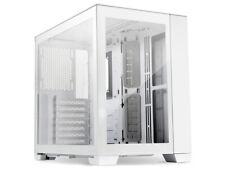 Lian Li O11 Dynamic Mini Tempered Glass Tower Case Snow Edition - White