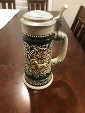 1978 Avon Beer Stein Lidded Rainbow Trout & English Setter 399445 Vintage