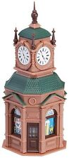 NEW ! HO Faller Four-Face Clock Tower w/ Newstand  : Model Building KIT # 180583