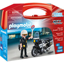 Playmobil Police Carry Case 5648 NEW