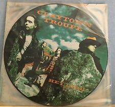 """CLAYTOWN TROUPE Hey Lord 1989 UK 12"""" Vinyl PICTURE DISC EXCELLENT CONDITION"""