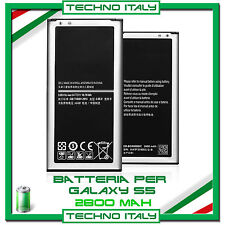 Batteria per Samsung Galaxy S5 i9600 EB-BG900 CAPACITA' ORIGINALE