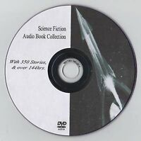 Huge Classic Sci Fi Science fiction 350 Audio Book collection on MP3 DVD 144hrs