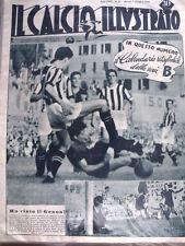 IL Calcio Illustrato 07/10/1948 con Calendario da ritagliare SERIE B 7 [GS35]